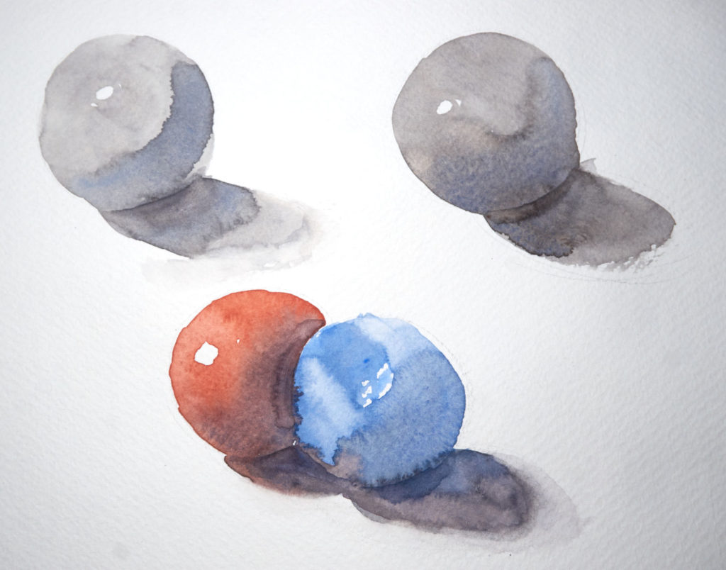 Aquarelltest auf Gerstaecker Aquarell Classic Block